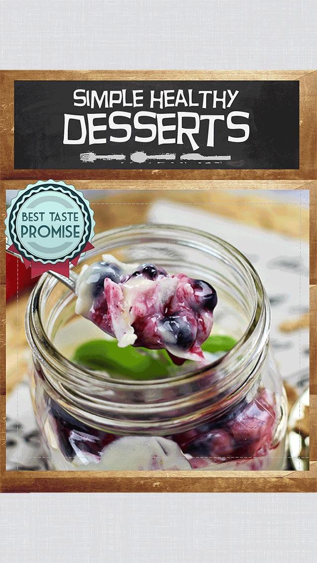 Simple Healthy Desserts screenshot1