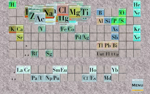 Elements - Periodic Table Order Quiz screenshot 1