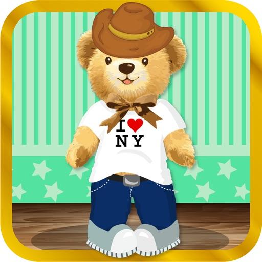 Cute and Cuddly Teddy Bear Dress Up Game iOS App