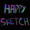 Happy Sketch by Horse Reader
