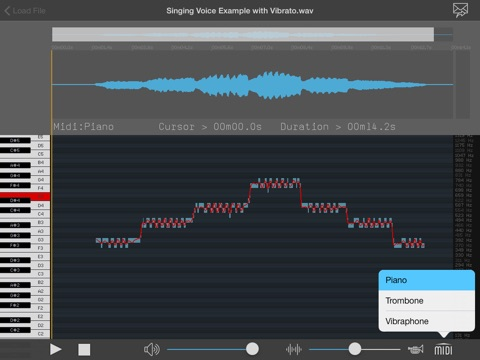SingingStudio screenshot 2