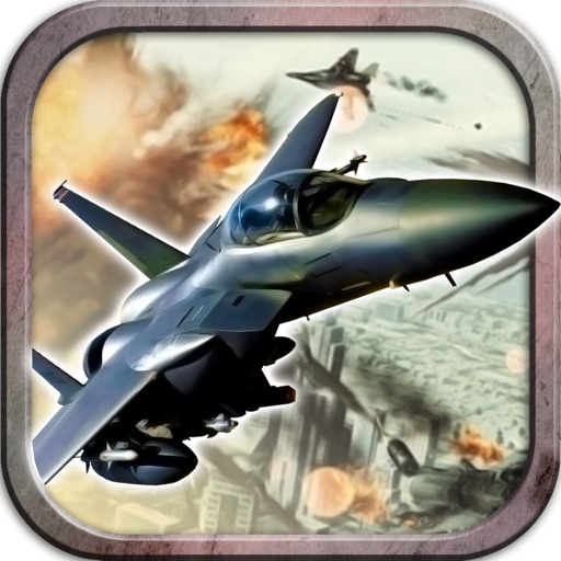Air Sky Fighter - Uber Free 3d Jet Figther Endless Action Game iOS App