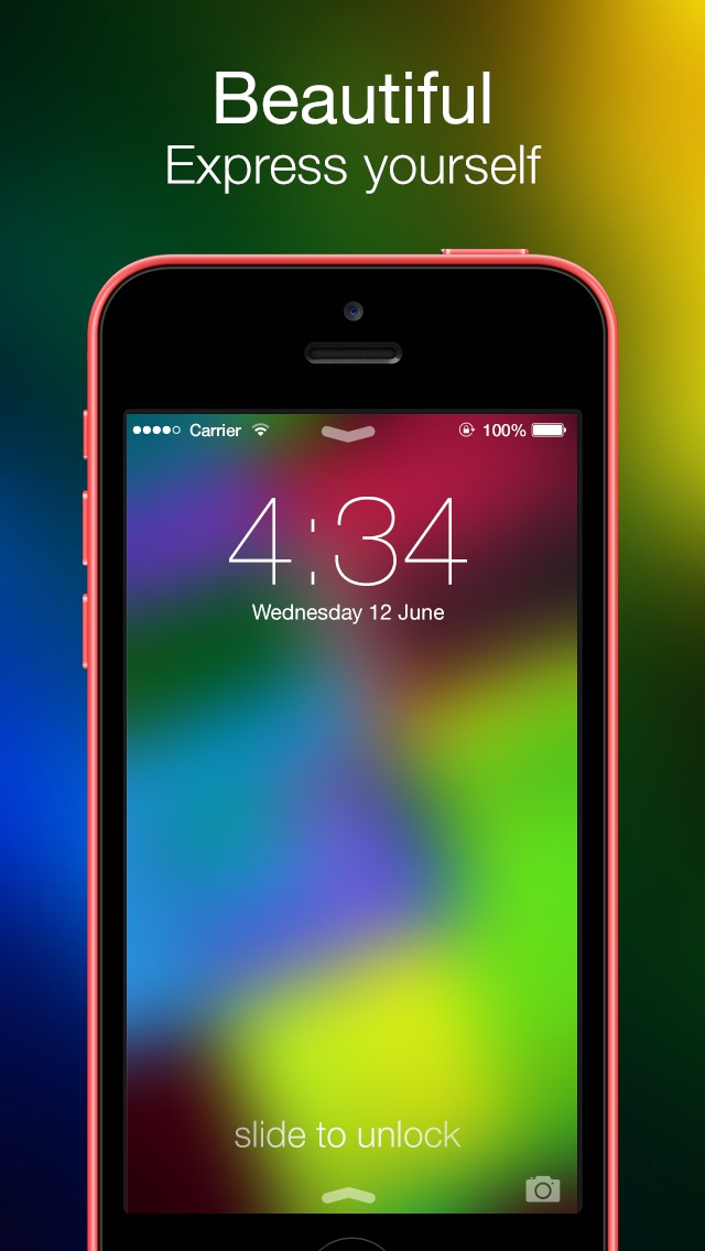 Blurry - Wallpapers for iOS 7Screenshot of 5