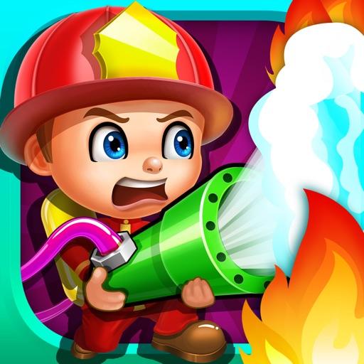 Fireman Heroes - Fire & Rescue kids games iOS App
