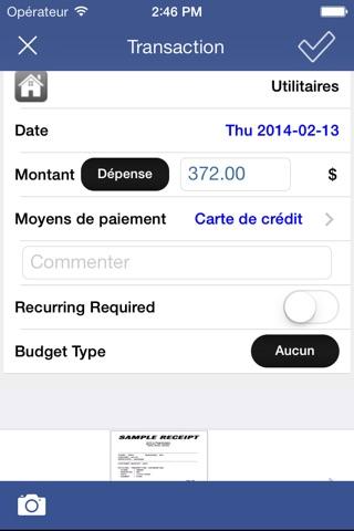 Expense Tracker & Easy Budget screenshot 2