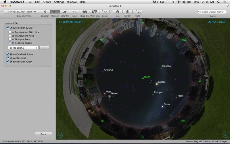 Screenshot #3 pour SkySafari 4
