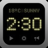 Super Clock+ Apps gratis voor iPhone / iPad
