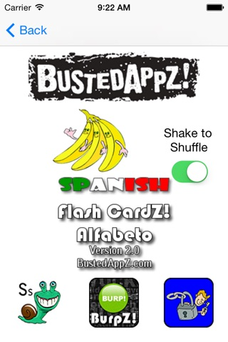 Flash CardZ! - Alfabeto screenshot 4