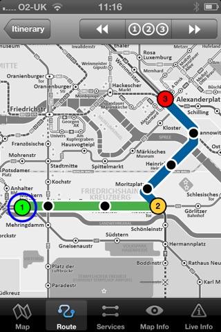 Berlin Metro by Zuti screenshot 2