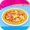 Geschwindigkeit gemacht und leckere Pizza 2-- italienische Küche