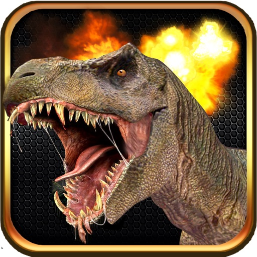 Angry Dino Rampage - T-Rex Hunter Edition iOS App