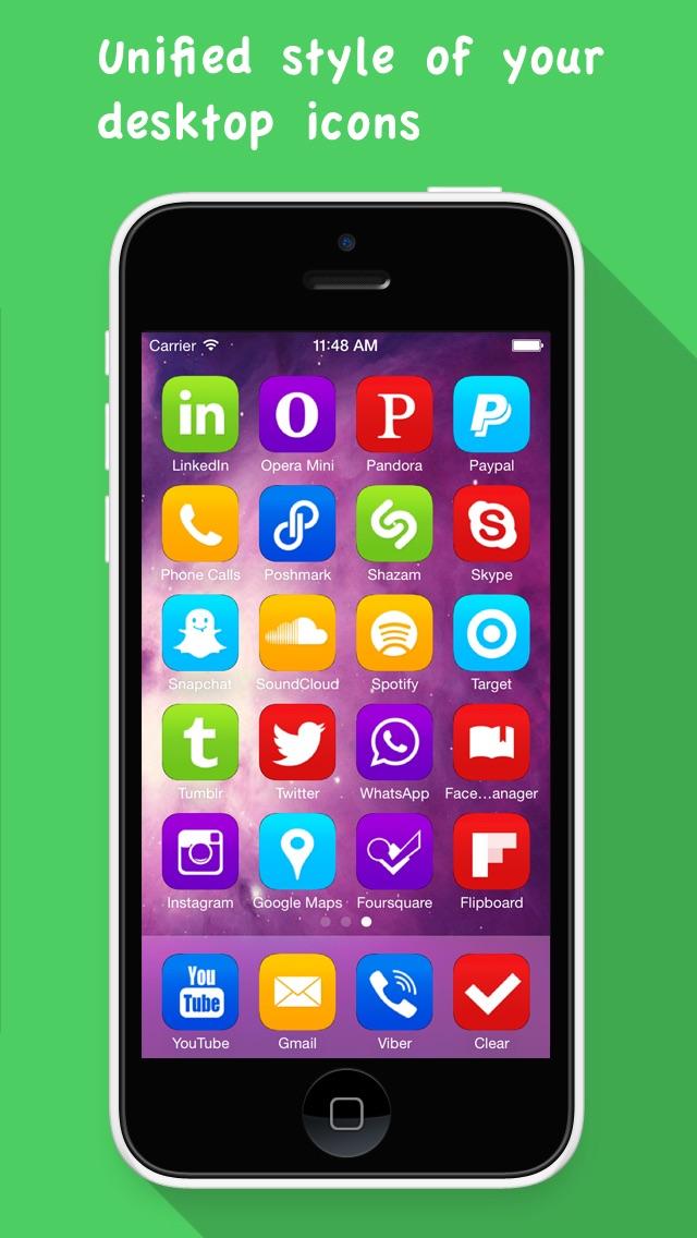 Конструктор Иконок PRO- Иконки для Основного Экрана freeСкриншоты 4