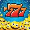 777 Smiley Slots - Emoji & Emoticons Casino Slotmachines Games