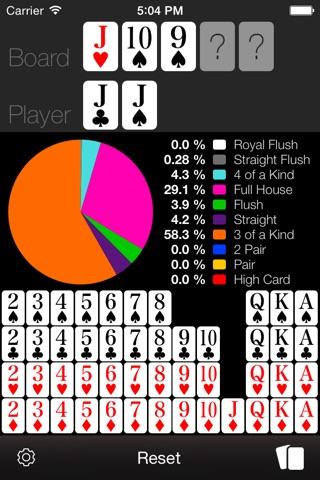 Poker Odds Calculator screenshot 2