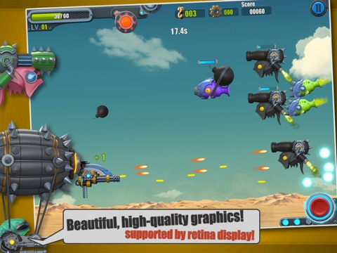 Screenshot #3 for Flight Fight 2 HD