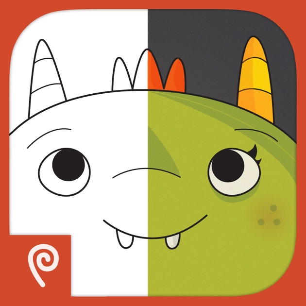 monster coloring book on the app store coloring book on creation coloring book coins
