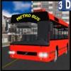 3D Metro Bus Simulator - Public transport service & trucker parking simulation game