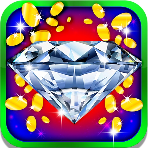 Lucky Diamond Ace Slots: Win double rewards, bonuses and daily coins iOS App