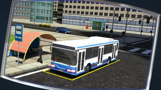 3D Bus Driving Simulator - Real Life Parking Test Run Sim Racing Game Screenshot 3