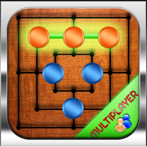 Chi-chi Nine Men's Morris - The Classic HD Game Multiplayer With Multiple Variants iOS App