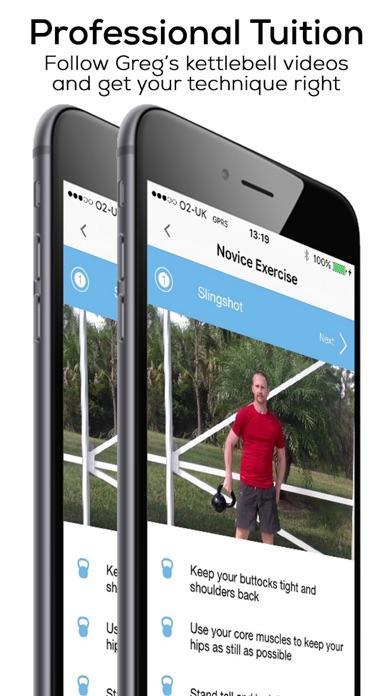 Kettlebell Workout Wizard Screenshot