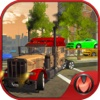 Car Transporter Trailer Truck - Big Transport Duty