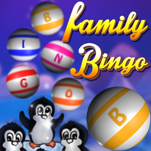 Awesome Family Bingo Night - win double jackpot casino tickets iOS App
