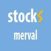 Stocks Merval indice, Bolsa de Comercio de Buenos Aires y cartera