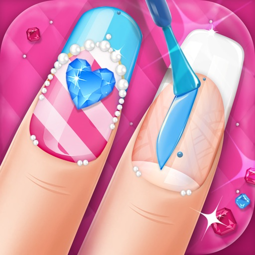 Nail Art Beauty Salon Game: Cute Designs and Manicure Ideas for Girls iOS App