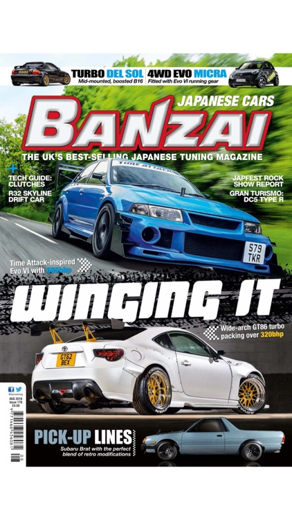 Banzai The Uk S Best Selling Japanese Car Tuning Magazine By Unity
