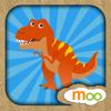 Dinosaurier - Aktivitäten, Puzzles, Learnspiele für Kinder und Kleinkinder von Moo Moo Lab