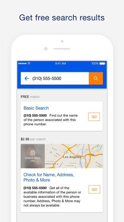 Reverse Phone Lookup - search for name, address, photo & more by