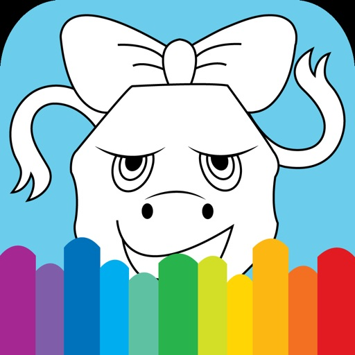 Coloring For Kids Cartoon truck Edition xxx iOS App