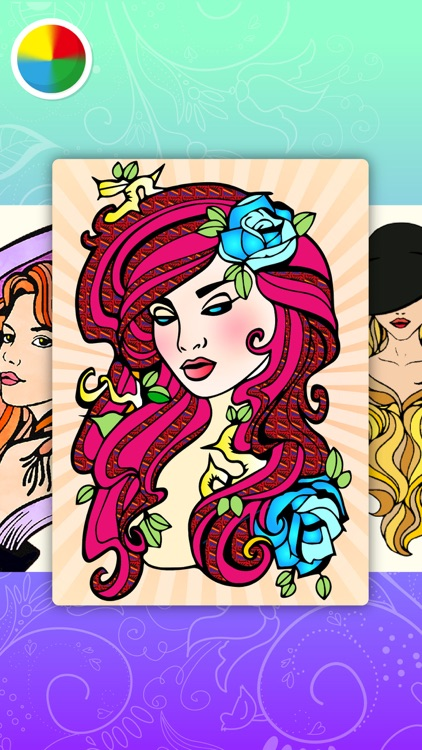 Fashion Coloring Book For Adults Stress Relieving Color Therapy