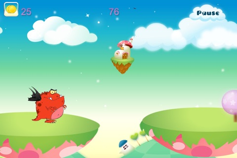 Baby Dragon Run Free screenshot 4