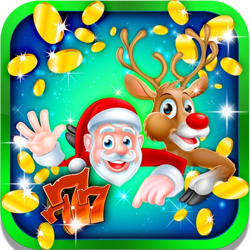 Cold Winter Slots: Roll the skiing sports dice and achieve the virtual gambler crown iOS App