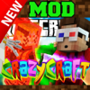 CRAZY CRAFT MOD with MOBS FOR MINECRAFT PC  PREVIEW and GUIDE