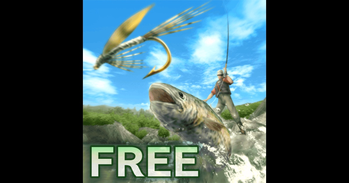 Fly fishing 3d free on the app store for Fly fishing apps