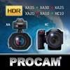 PROCAM for Canon XA Series and XC10 0x0000007a win
