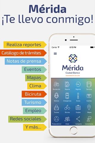 Mérida Móvil screenshot 1