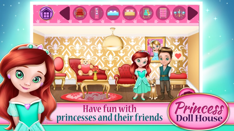 princess doll house games design and decorate your own fantasy castle for kids and girls - Decorate Your Own House