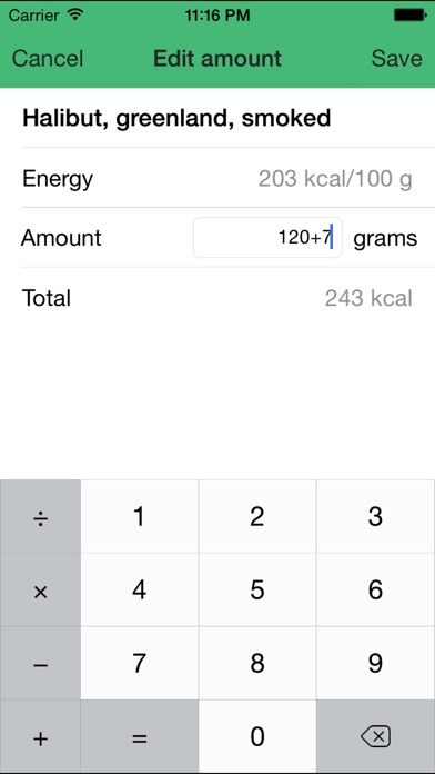 download Calories - Your daily calorie counter apps 1