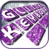 Glitter Keyboard Maker – Free Custom Keyboard Skins with Fancy Fonts and Color Backgrounds