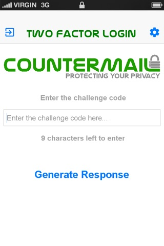 CounterMail - Two-factor Login screenshot 2