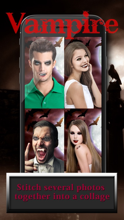 Vampire Face Change r App & Funny Photo Montage with Scary