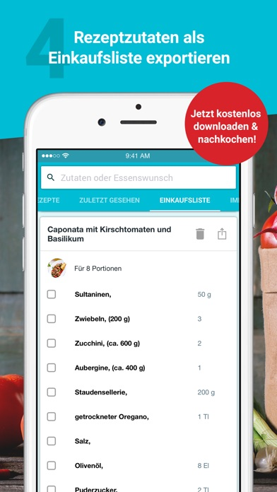 Kochen Und Backen App rezepte essen trinken kochen und backen app report on mobile