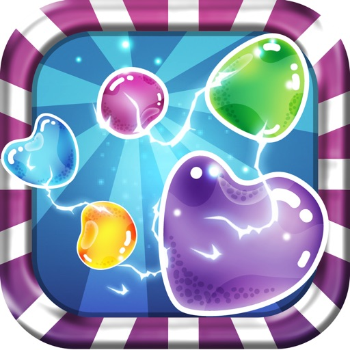 Fantasy Candy Rain - Sweet Candy Rain Match 3 Puzzle Game iOS App