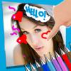 Pintar sobre fotos - desenhar imagens sobre imagens