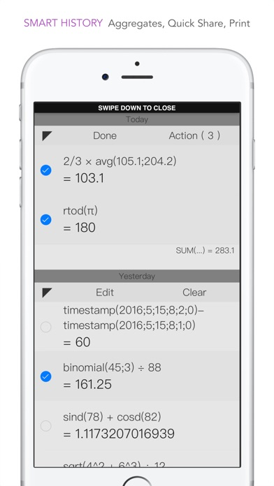 CALC Smart Screenshots