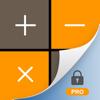 秘密の電卓 Pro - プライベートな写真とビデオ金庫を隠す, をアレンジ をパスワードでロック暗号化する(安全ファイルフォルダアプリ)